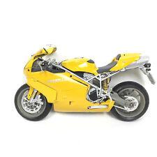 Ducati 999 testastretta Moto 1:12 Jaune Yellow Miniature + Cadeau