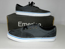 NEUF : Basket EMERICA PROVOST SLIM VULCXTOY Black/Grey Taille 45, 10 UK, 11 US