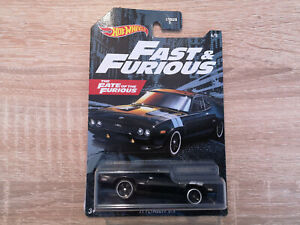 2021 Hot Wheels '71 Plymouth GTX - 1:64 1/64 Fast and Furious 4/5 Black