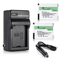 AHDBT 001 AHDBT 002 Battery (2 Pcs)For GoPro HERO2 Hero 1080 960 + AC/DC Charger