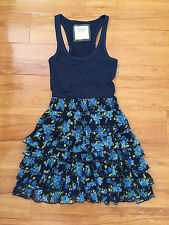 ABERCROMBIE AND FITCH Flowery Dress XS