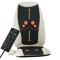 Shiatsu Massage Seat Cushion with Heat Back Massager Chair for Home and Car Use