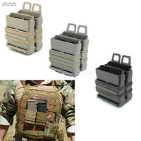 FMA Molle Mag Pouch 5,56.223 Magazine Double Set support sac Airsoft chasse