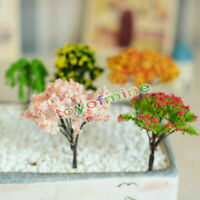 Miniatur Sakura Baum Pflanzen Fairy Garten Zubeh?r Dollhouse Ornament