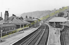 Todmorden Railway Station Photo. Walsden to Cornholme and Eastwood Lines. (5)
