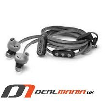Coloud Sports HOOP Anchor Sweat Resistant Earbuds with Mic and Remote - Black