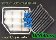 Engine & Carbonized Cabin Air Filter For IS250 IS350 GS350 GS430 IS250C IS350C