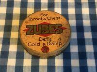 Vintage Zubes Tin