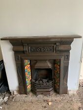 More details for fireplace surround cast iron