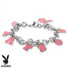 Bracelet Playboy charms pink