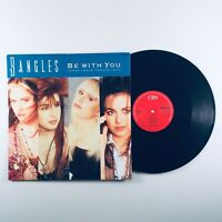"""Bangles - Be With You (Three Track 12"""" Vinyl Record, 1989) BANGS T6 A1/B2"""