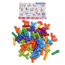 1Set Water Pipe Building Blocks Set Assembling Toys DIY Pipeline Blocks New LA