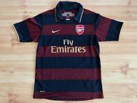 Vintage Arsenal Herbert Chapman third 3rd Shirt Jersey 2007/2008 Nike size Small