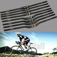 Carbon Bicycle Handlebars MTB Cycling Road Bike Flat Riser Bars 5° 7° 31.8mm UD