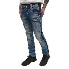 """RUSTY NEAL - Herren Slim Fit Jeans R-12098-1 """"Nelson"""" blue (blau)"""