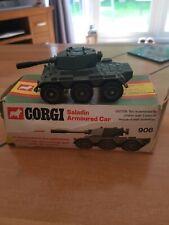 Corgi Toys No.906. Saladin Armoured Car with box.