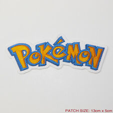 POKEMON - Cool Game / Cartoon Logo Embroidered Patch