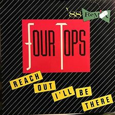 FOUR TOPS • Reach Out I'll Be There (RMX)• VINILE 12 Mix • MOTOWN
