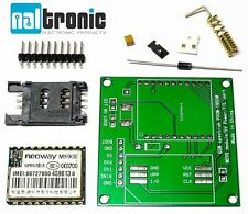 GPRS GSM-módulo m590 neoway m590e sim 900 1800 MHz frecuencia SMS DIY kit Arduino