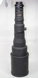 Nikon 500mm ED F4 Nikkor lens + 1.6x TC-16A teleconverter for Sony EBS25