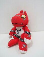 """Guilmon Digimon Tamers Banpresto Plush 2001 Plush 7"""" Stuffed Toy Doll Japan"""