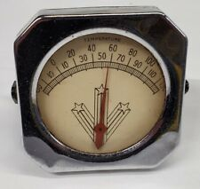 New listing Vtg Mcm Temperature Humidity Gauge Small Table Top Atomic 3 Star Thermometer