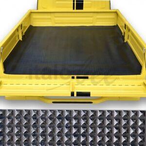Piaggio Ape 50 Antirutschmatte lange Ladefläche Pyramidenmuste Gummimatte Matte