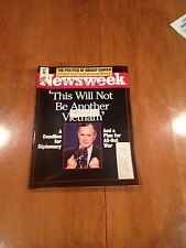 Newsweek Magazine This Will Not Be Another Vietnam December 10 1990 George Bush