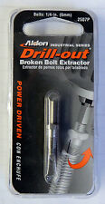 """ALDEN 1/4"""" DRILL-OUT BROKEN DAMAGED BOLT SCREW EXTRACTOR 2507P MADE IN USA"""