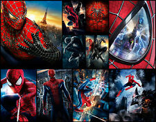 Spiderman Collage A1+ High Quality Canvas Art Print