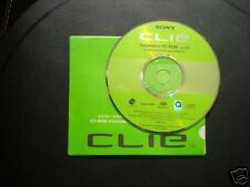Sony Clie PEG-SL10 Software Driver Installation CD-ROM