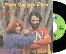 ANDY LUOTTO e SILVIA disco 45 giri STAMPA ITALIANA  colonna sonora MADE IN ITALY