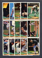 1994 Topps Baseball San Francisco Giants TEAM SET (31) w/Traded
