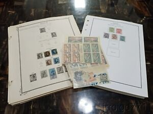 MD BELGIUM stamp collection on PAGES 49 photos