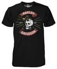 Harley Davidson Skull Basher Black Shirt NWT Men's Medium