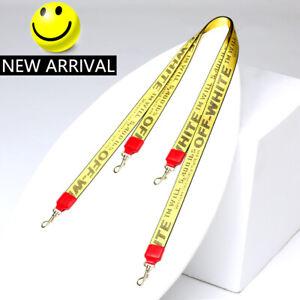 OFF White Print Shoulder Crossbody Strap Belt Replacement Handbag Purse Bag