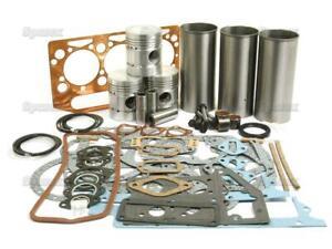 Engine Overhaul Kit for Perkins 3.152 Fordson Super Dexta & IMT 539 542 Tractor