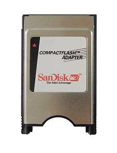 SanDisk CF zu PCMCIA Adapter PC CompactFlash ATA PC Karte zu CF für CNC GE Fanuc