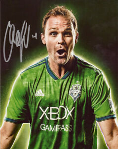 CHAD MARSHALL SIGNED 8X10 PHOTO SEATTLE SOUNDERS FC SOCCER GREAT ITEM!!!!