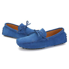 Mens Suede Loafers Driving Moccasins Casual Soft Penny Shoes Comfortable Loafer