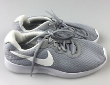 Nike Tanjun Women's Running Athletic Shoes 812655-010 in Gray/White Size 9