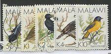 MALAWI #528, 530-532, 533A USED