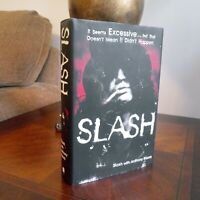 Slash & Anthony Bozza SLASH  1st Edition 1st Printing. TRUE 1st/1st Guns n Roses