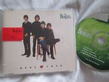 The Beatles – Real Love Label: Apple Records CDR 6425 UK CD Single