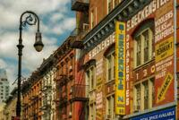Lower East Side Buildings New York City NYC Photo Art Print Poster 24x36 inch