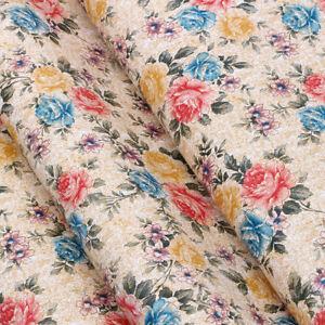 Vinyl Floral Wallpaper Self Adhesive Contact Paper Shelf Drawer Liner Xmas Decor