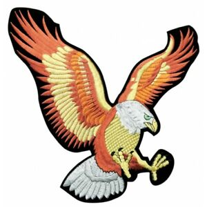 Eagle Patch Embroidered Patch The Flying Eagle Sew On Iron On Patch-New 2 Sizes