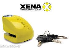 Antivol Bloque disque + Alarme XENA XX10 Classe SRA Moto Scooter Homologué