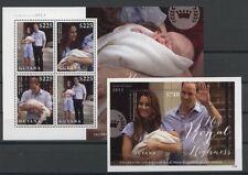Royal Baby, George, Kate, William - Guyana - ** MNH 2013