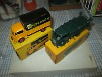 Atlas / Dinky  - Ford Benne a Ordures & Ford Camion Bache-Boxed